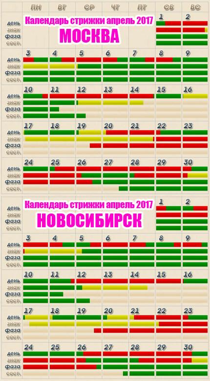 Календари трио 2017